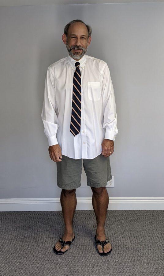 Mr.+Delgado+showing+off+his+COVID+fashion.