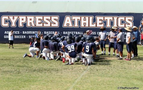 Photo Credit: Cypress High School's Football Facebook Page