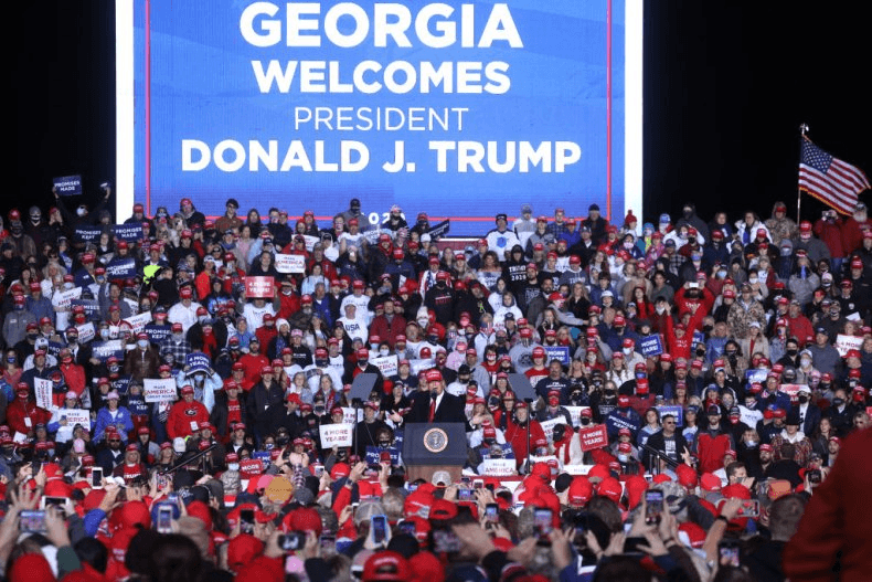 Trump Urges Officials to Recount Georgia Vote Totals