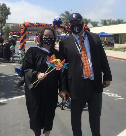 Ms. Takacs and Dr. Hodgson at last year