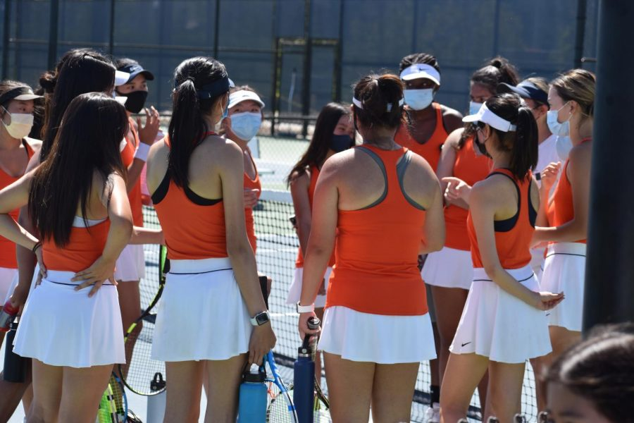 Cypress+Girls+Varsity+Tennis+ready+for+a+game%21%0APicture+Credit%3A+Jecy+Liu
